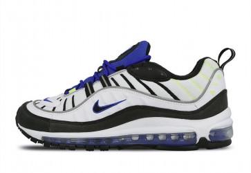 Boutique Homme Nike Air Max 98 Blanche Noir