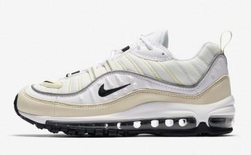 """Acheter Femme Nike Air Max 98 """"Fossil"""" Blanche Noir"""
