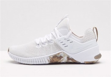 Homme Nike Free x Metcon Blanche Grise Pas Cher