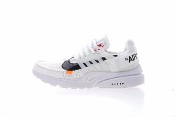Acheter Off-White x Nike Air Presto Homme Blanche Noir Cone