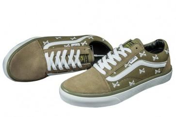 Chaussures VANS Old Skool Verte Pas Cher