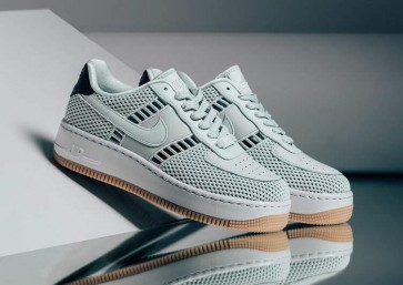 Nike Air Force 1 Upstep Barely Grise Gum Homme Pas Cher