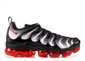 Homme Nike VaporMax Plus Rouge Shark Tooth Noir Blanche Pas Cher