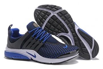 Chaussures Homme Nike Air Presto QS Noir Bleu Moins Cher