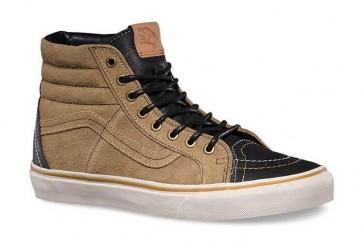Chaussures Vans SK8 Hi Noir Pas Cher, Vans Homme