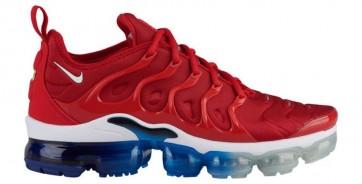"""Homme Nike Air VaporMax Plus """"USA"""" Rouge Bleu Meilleur Prix"""
