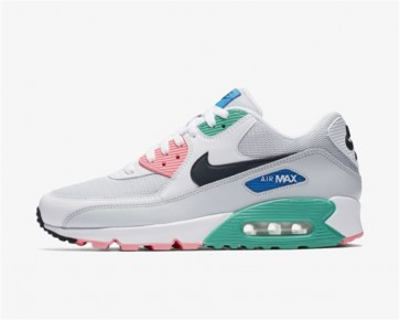 "Acheter Nike Air Max 90 Essential Homme ""Summer of Sea"" Blanche Bleu"