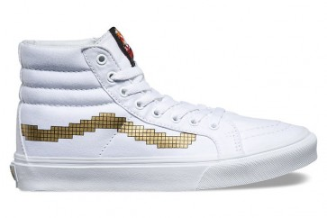 Chaussures Vans SK8 Hi Slim Console Or Soldes