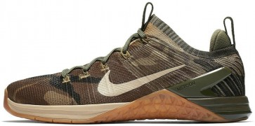Homme Nike Metcon DSX Flyknit 2 Olive Canvas Dark Stucco Argent Soldes