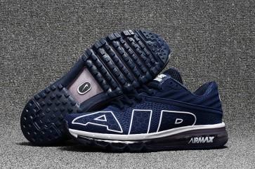 Nike Air Max Flair 2017 Bleu Blanche Pas Cher, Chaussures Homme