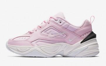 """Nike M2K Tekno Femme """"Rose"""" Rose Noir Meilleur Prix"""