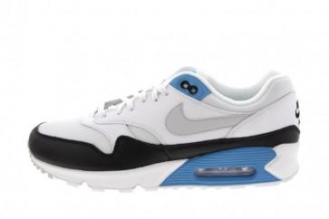 "Homme Nike Air Max 90 1 ""Laser Bleu"" Blanche Grise Soldes"