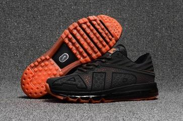 Chaussures Homme Nike Air Max Flair 2017 Grise Orange Vente