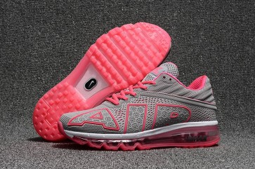 Boutique Chaussures Nike Air Max Flair 2017 Femme Grise Rose