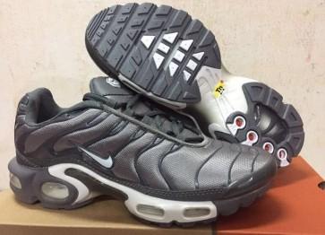 Boutique Chaussures Nike Air Max TN Plus Homme Argent Grise
