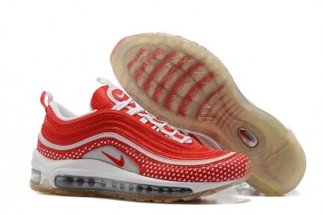 "Boutique Femme Nike Air Max 97 GS ""Valentines Day"" Rouge Blanche"