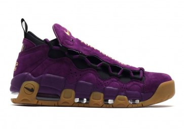 Homme Nike Air More Money Night Pourpre Or Pas Cher