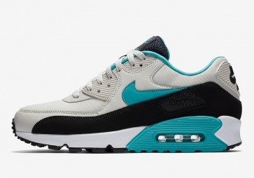 Nike Air Max 90 Essential Light Bone Homme Noir Blanche Rabais
