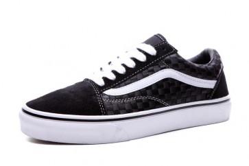 Vans Old Skool Pas Cher - Chaussures Vans Noir Blanche