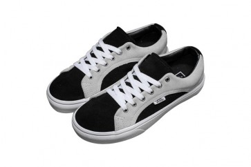 Vans Brite Old Skool Soldes - Chaussures Noir Grise