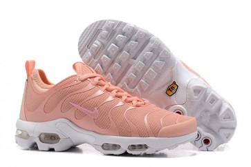 Chaussures Nike Air Max Plus TN Ultra Femme Rose Blanche Vente
