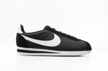 Homme Nike Classic Cortez Nylon Noir Blanche En ligne