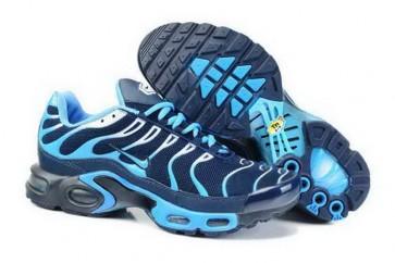 Chaussures Nike Air Max TN Plus Homme Marine Bleu Pas Cher