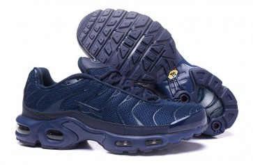 Chaussures Nike Air Max TN Plus Homme Marine Soldes