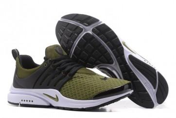 Nike Air Presto Essential Pas Cher, Chaussures Verte, Homme