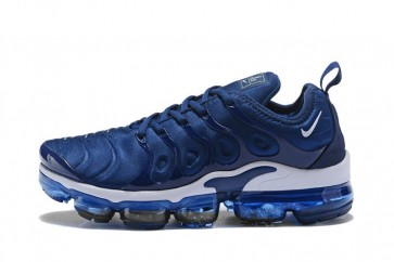 Homme Nike Air VaporMax Plus Bleu Blanche Meilleur Prix