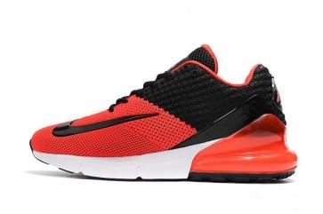 Homme Nike Air Max 270 Noir Rouge Rabais