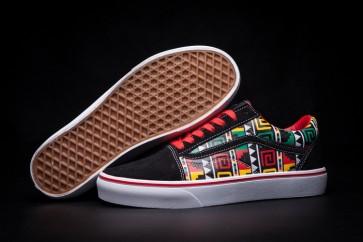 Chaussures Vans Old Skool Noir Soldes