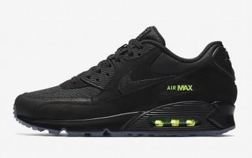"""Nike Air Max 90 Homme """"Noir Volt"""" Casual Noir Volt Pas Cher"""