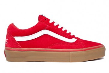 Boutique Chaussures Vans Old Skool Pro Rouge