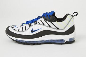 Nike Air Max 98 Homme Blanche Noir Rabais