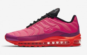 Nike Air Max 97 Plus Homme Rouge Noir Meilleur Prix