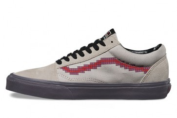 Chaussures Vans Old Skool Console Dove Pas Cher