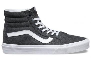 Chaussures Vans SK8 Hi Reissue Blanche Pas Cher, Homme Vans