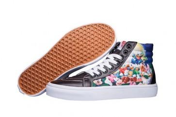 Vans SK8 Hi Slim Multi-color Soldes, Chaussures Vans SK8 Hi