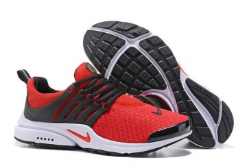 Nike Air Presto Essential Pas Cher, Homme, Chaussures Noir Rouge
