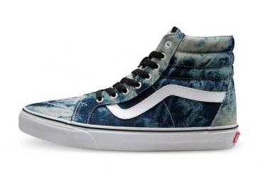 Vans SK8 Hi Reissue Pas Cher - Chaussures Vans Blanche