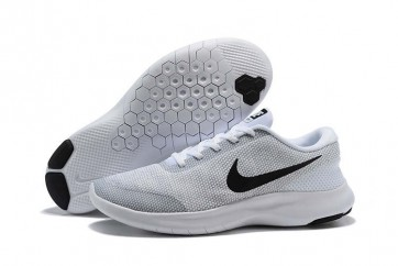 Homme Nike Flex Experience RN 7 Blanche Grise Soldes