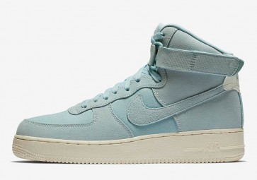 separation shoes 8c65f bede2 Homme Nike Air Force 1 High Baby Bleu Rabais