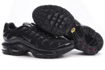 Nike Air Max TN Plus Noir Grise Soldes, Chaussures Femme