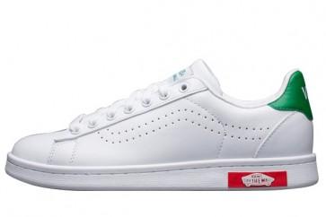 Chaussures Vans Old Skool Blanche Verte Soldes