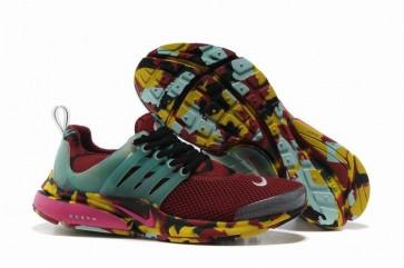 Chaussures Nike Air Presto Femme Pas Cher - Burgundy Camo