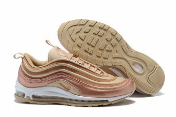 "Boutique Homme Nike Air Max 97 Ultra ""Metallic Bronze"" Blanche Marron"