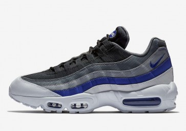 Homme Nike Air Max 95 Essential Blanche Grise Soldes