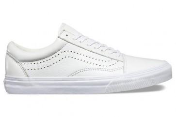 Chaussures Vans Old Skool Reissue Blanche Pas Cher