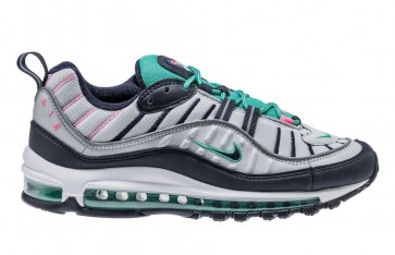 "Nike Air Max 98 Homme ""South Beach"" Blanche Verte Soldes"